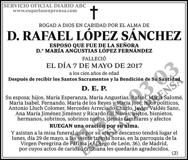 Rafael López Sánchez
